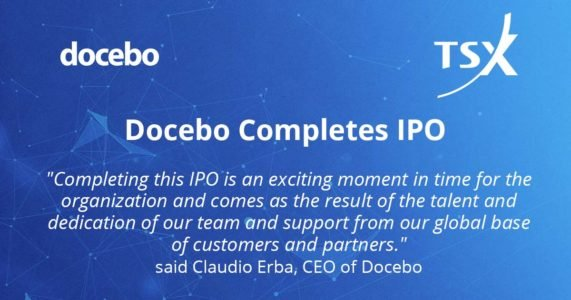 Docebo Successfully Completes IPO