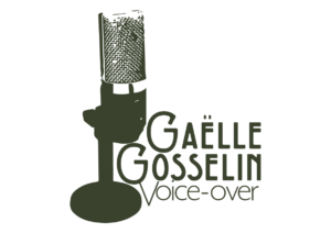 Gaelle Gosselin Voice-over logo