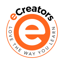 eCreators by Open LMS logo