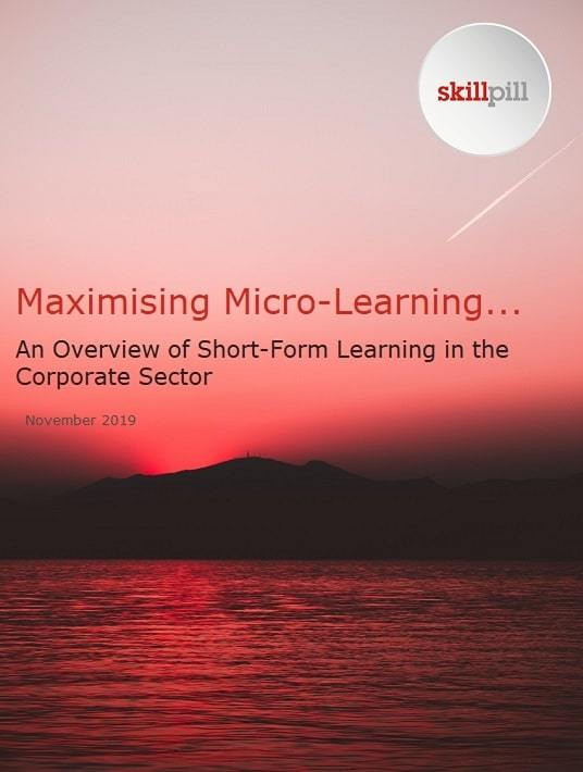 Maximising Microlearning: An Overview Of Short Form Learning In The Corporate Sector