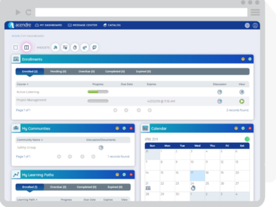 Screenshot of Acendre Learning