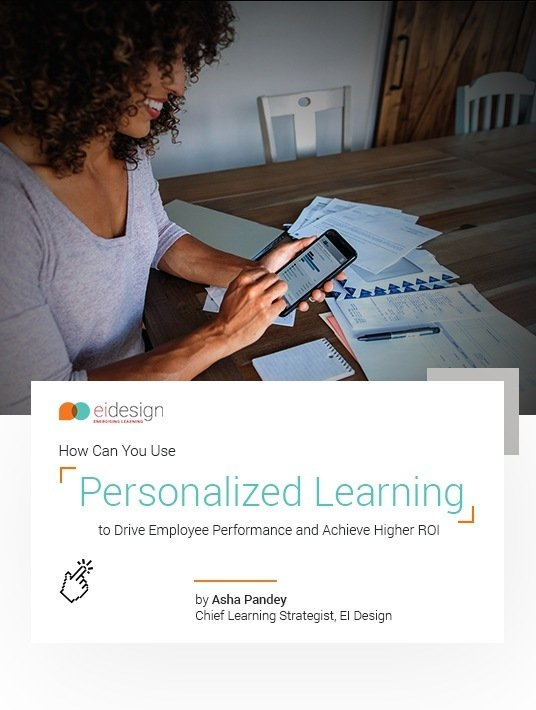 eBook Release: How Can You Use Personalized eLearning To Drive Employee Performance And Achieve Higher ROI