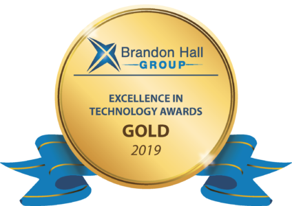 Thought Industries Wins Brandon Hall Group Gold Excellence Award