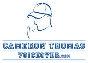 Cameron Thomas Voiceovers logo
