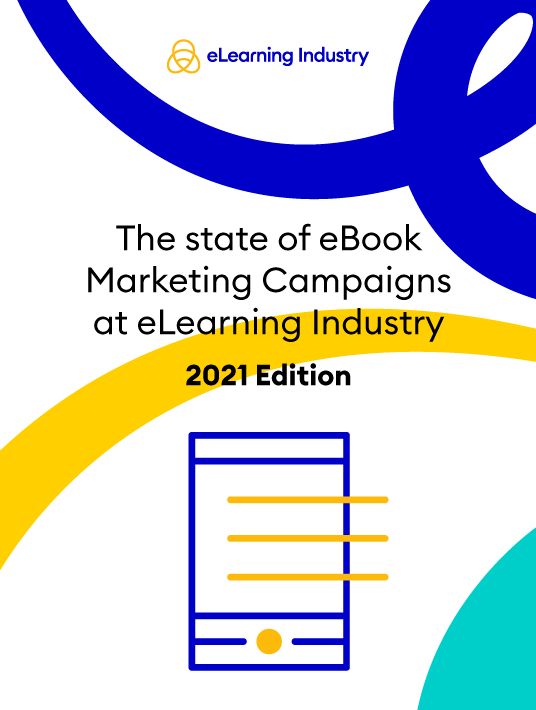 eLearning Industry - eBooks Performance Infographic 2021 - cover