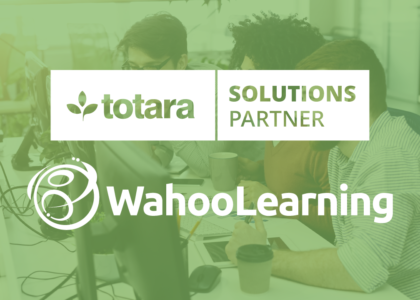 Wahoo Learning Announces New Partnership With Totara