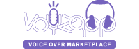 Voyzapp Voice Actor Marketplace logo