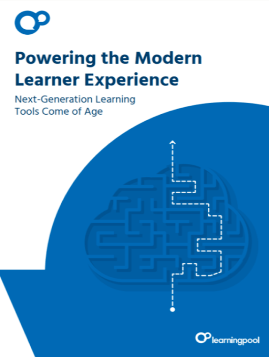 Powering The Modern Learner Experience | Next-Generation Learning Tools Come Of Age