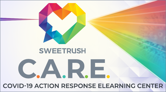 SweetRush Announces C.A.R.E. (COVID-19 Action Response eLearning Center)
