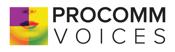 ProComm Voices logo
