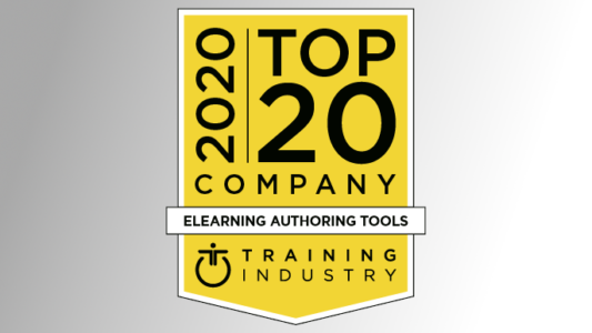 Gomo Remains On Training Industry's Top eLearning Authoring Tools 2020 List