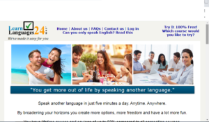 LearnLanguages24.com logo