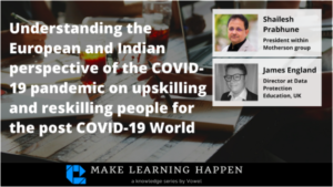 Webinar: Up-Skilling And Re-Skilling People For The Post-COVID World