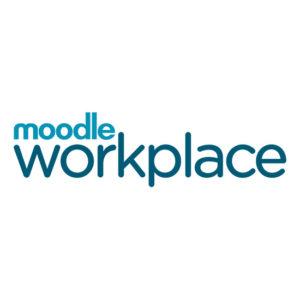 Moodle Workplace logo