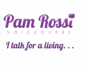 Pam Rossi VoiceOvers logo