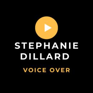 Stephanie Dillard Voice Over Services logo