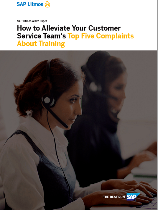 How To Alleviate Your Customer Service Team's Top 5 Complaints About Training