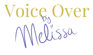 Voiceover by Melissa logo