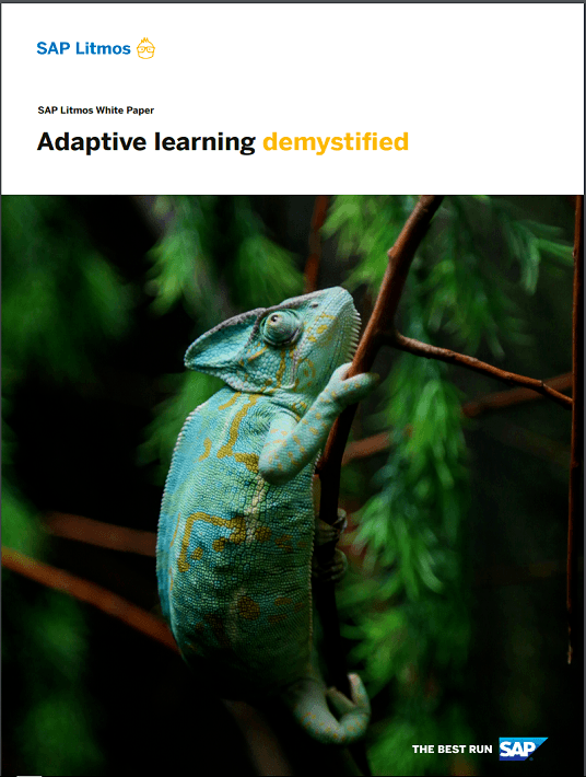Adaptive Learning Demystified