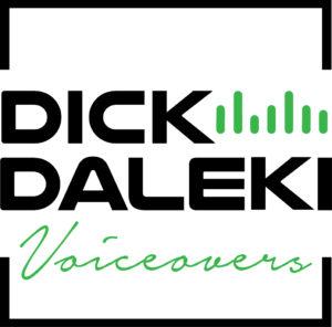 Dick Daleki Voiceovers logo