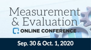 The Measurement & Evaluation Online Conference
