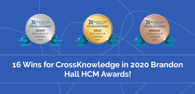 CrossKnowledge Wins 16 Brandon Hall Group Excellence In Learning Awards