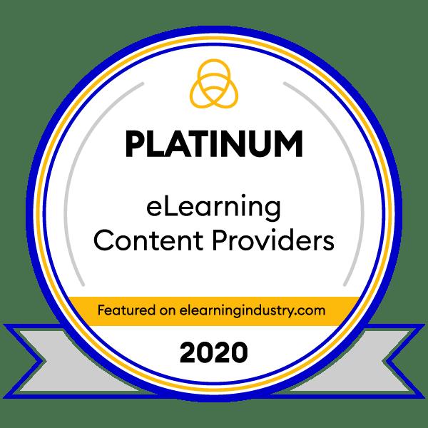 AllenComm Platinum Award Winner 2020