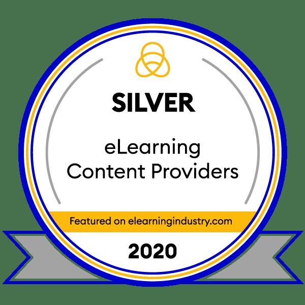 SweetRush Silver Award Winner 2020