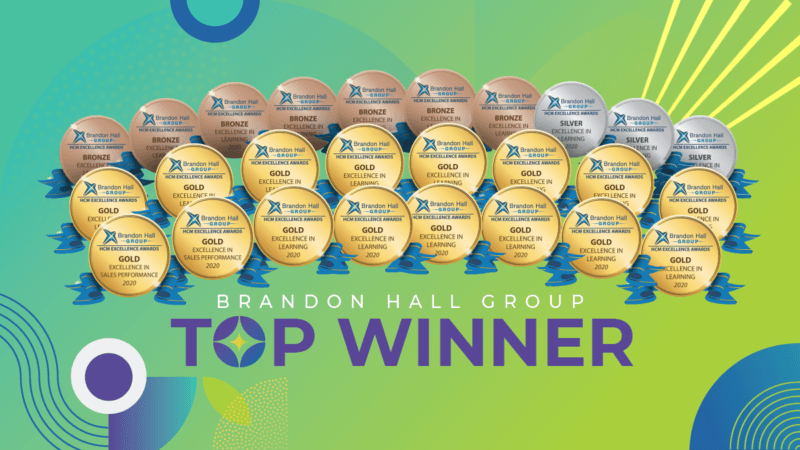 SweetRush And Clients Celebrate Remarkable 16 Gold Brandon Hall Group Awards