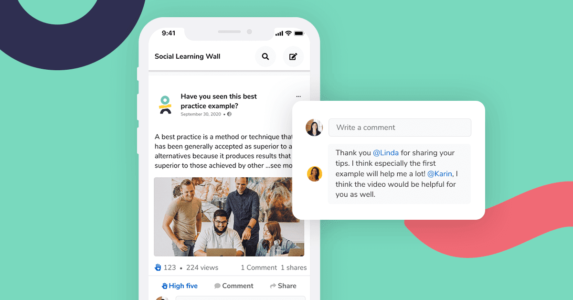 New Platform Feature: Boost Learning Impact With Social Learning Wall