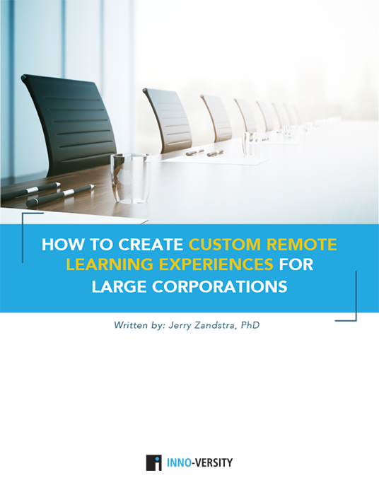 How To Create Custom Remote Learning Experiences For Large Corporations