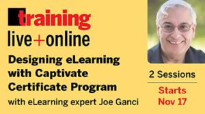 Designing eLearning With Captivate Course