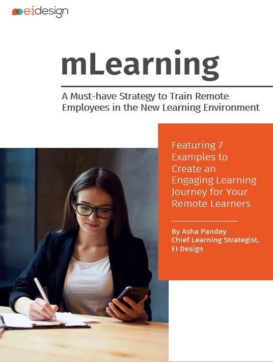 eBook Release: mLearning - A Must-have Strategy To Train Remote Employees In The New Learning Environment