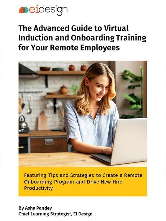 eBook Release: eBook Release: The Advanced Guide To Virtual Induction And Onboarding Training For Your Remote Employees