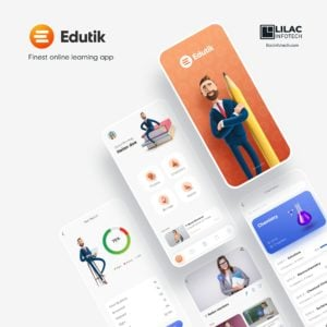 Edutik - Finest education app logo