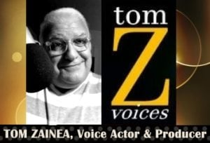 Tom Zainea, Audiobook Narrator & Voice Actor logo