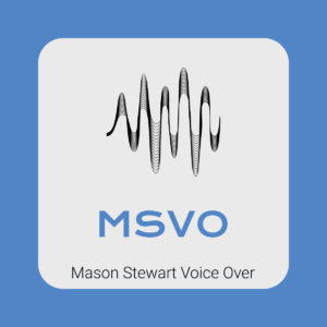 Mason Stewart Voice Over logo