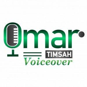 Omar Timsah Voiceover logo