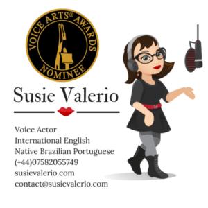 Bilingual Brazilian Portuguese & English logo