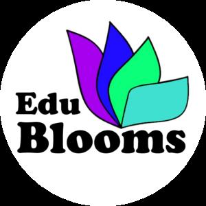 EduBlooms School ERP logo