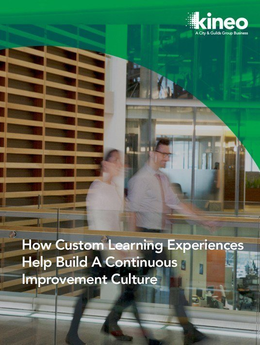 How Custom Learning Experiences Help Build A Continuous Improvement Culture