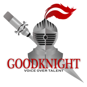 Goodknight Voice Overs, LLC logo