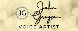 John Grayson - Voice Artist logo