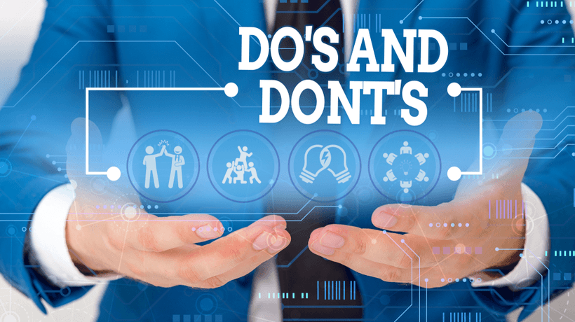 Do's And Don'ts For Successful eLearning Projects