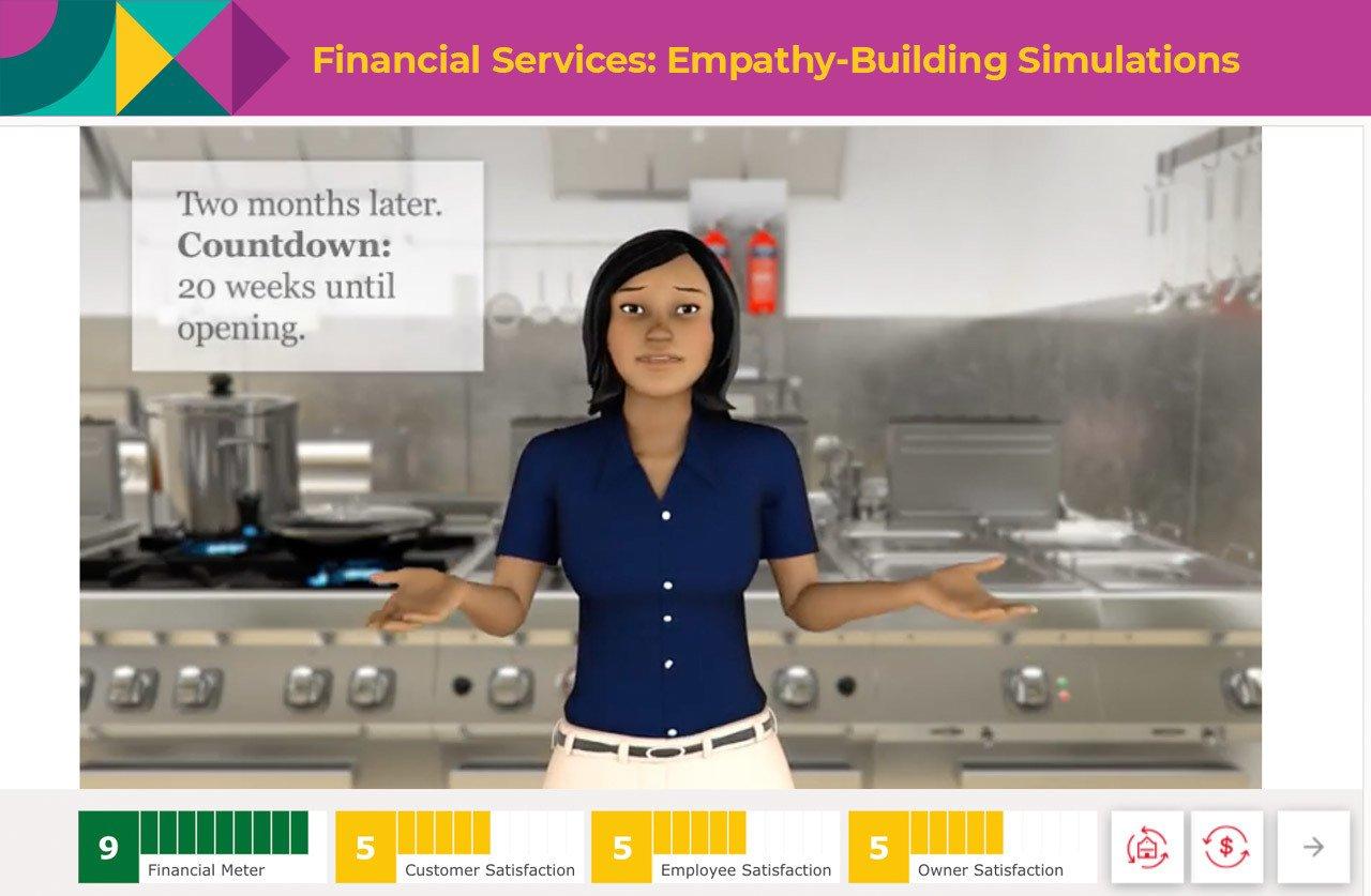 Empathy-Building simulations