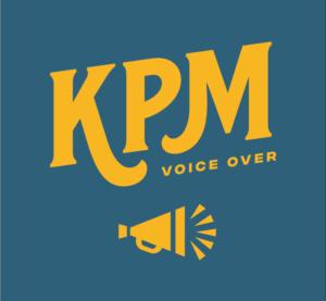 KPM Voice Over logo