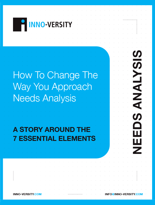 eBook Release: How To Change The Way You Approach Needs Analysis: A Story Around The 7 Essential Elements