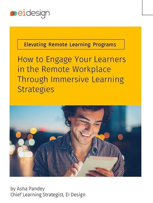 How To Engage Your Learners In The Remote Workplace Through Immersive Learning Strategies