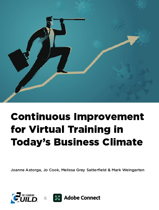 eBook Release: Continuous Improvement For Virtual Training In Today's Business Climate
