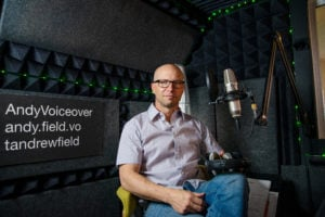 Andy Field Voiceover, LLC logo